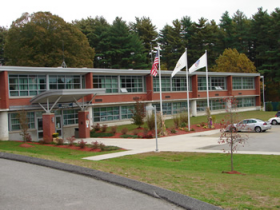 Job Corps campus in Exeter, RI.