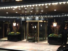 Front door of Biltmore Hotel