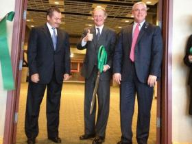 Governor Lincoln Chafee at CCRI