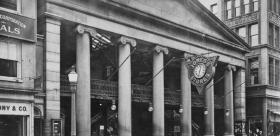 The Arcade in an undated photo