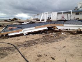 The Andrea Resort got socked by Superstorm Sandy.