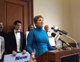 Sen. Donna Nesselbush on legalizing marijuana