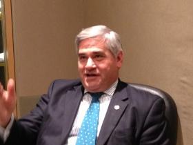 Attorney General Peter Kilmartin in the RIPR studio.