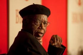 Chinua Achebe, the David and Marianna Fisher University Professor and Professor of Africana studies