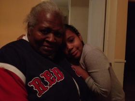Grandma Ethel Dowdy and granddaughter Ny-Asiah spend a lot of time together in their Woonsocket home.