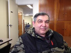 College student Donald Mangiarelli