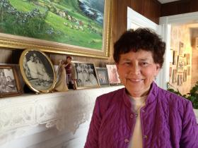 Teresa Mahony graduated from URI at 80.