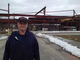 Paul Ianelli has worked one job or another on the grounds of the old Providence Steel and Iron for 50 years.