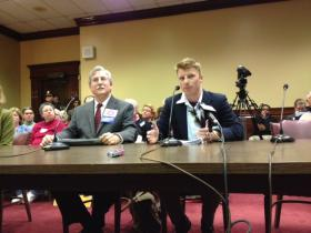 Supporters of Same-Sex Marriage at Senate Judiciary Committee hearing on March 21, 2013