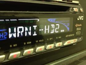 102.7FM transmits in HD Radio