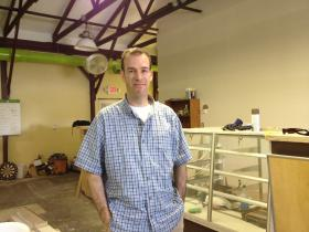 Seth Bock, owner of the Greenleaf compassion center.