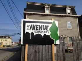 The Avenue Concept building in South Providence