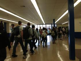 Nearly 100 percent of students at Attleboro High School meet standardized test graduation requirements.