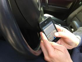 South County high school students in Rhode Island learn about the dangers of texting while driving.