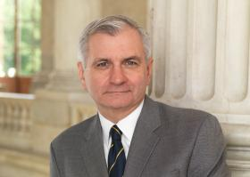 U.S. Senator Jack Reed wants to keep  interest rates for federal student loans from doubling in the coming years.