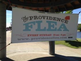 The Providence Flea is a new upscale flea market open in downtown Providence for the summer.