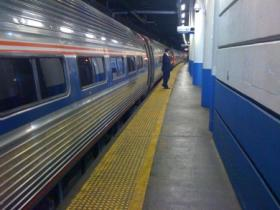 Rail temperatures exceeding 120 degrees have forced Amtrak to slow down trains along the Northeast Corridor.