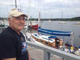 Chuck Ebersole is the Steward at Wickford Yacht Club.