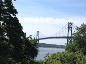 OSHA investigating a worker fall on the Mt. Hope Bridge Tuesday morning.