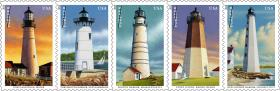 The Point Judith Lighthouse is part of a stamp set going on sale Saturday.