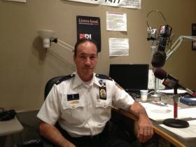 Providence police chief Hugh Clements