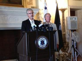 Gov. Lincoln Chafee has tapped RIDE Chief of Staff Clark Greene to fill in at the Department of Higher Education.