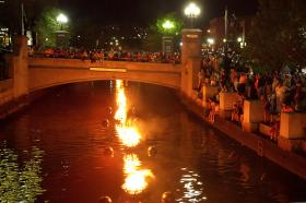 Waterfire in Downtown Providence attracts thousands to the city each summer.  Now the capital city is looking to attract crowds during the daylight.