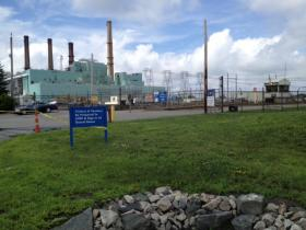 The Brayton Point Power plant in Somerset Mass.