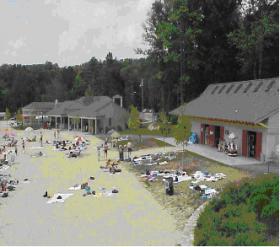 Spring Lake Beach facility in Burrillville, RI.