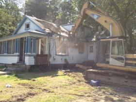 Six flood-prone houses were demolished on Perkins Ave in Cranston to be restored to Wetlands.