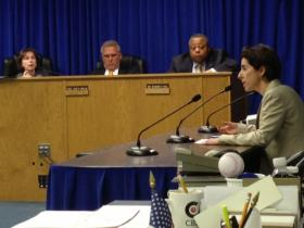 Raimondo during a House Finance appearance earlier this year