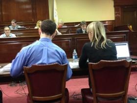 House staffers testify before the Oversight Committee about documents obtained from the EDC.