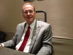 Congressman Jim Langevin stopped by the Rhode Island Public Radio Studios.