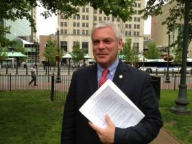 Warwick mayor Scott Avedisian says he's not considering a run for Governor now that Chafee has announced he won't seek re-election.