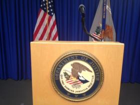 The U.S. Department of Justice is handling the furloughs for Rhode Island DOJ workers.