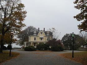 The Eisenhower House near Ft. Adams State Park.