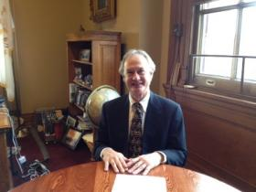 Governor Lincoln Chafee has been honored his work to increase the number of women holding state government jobs.