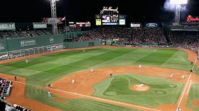 Fenway Park in Boston, where the Red Sox won the World Series for the first time in nearly 100 years.