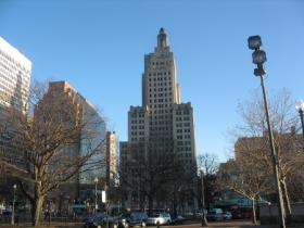 Rhode Island's tallest building, the so-called 'Superman Building' now sits vacant, after tenant Bank of America moved out.