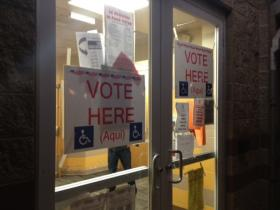 Voters head to the polls in Woonsocket and Central Falls for local elections.