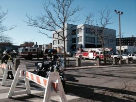 Police evacuated a portion of the Jewelry District in Providence, while investigating the cause of the underground explosion.
