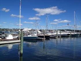 The Rhode Island Marine Trades Association says the average salary is $46,000 for a marine industry worker.