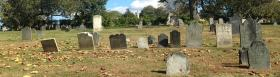 God's Little Acre cemetery in Newport