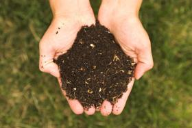 Decayed food waste breaks down into soil. Composting is a natural way to recycle food waste that would otherwise make its way to the landfill.