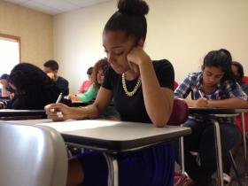Students take summer math courses to prepare for NECAP testing.