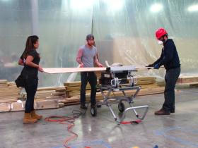 RISD and Brown students will work long hours to build a mockup of their solar house, until they're ready to ship it to Versailles, France for an international solar competition in July.