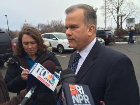 Mattiello comments after his caucus Sunday.