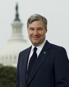Sen. Sheldon Whitehouse will co-lead nearly 30 U.S. Democratic senators on the Senate floor as they deliver speeches urging climate change action during an all-night session.