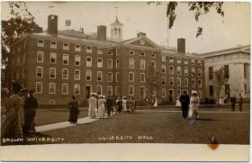 Brown University has been a looming presence in Rhode Island since its founding.