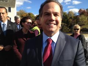 Congressman David Cicilline is already prepping for the coming election.